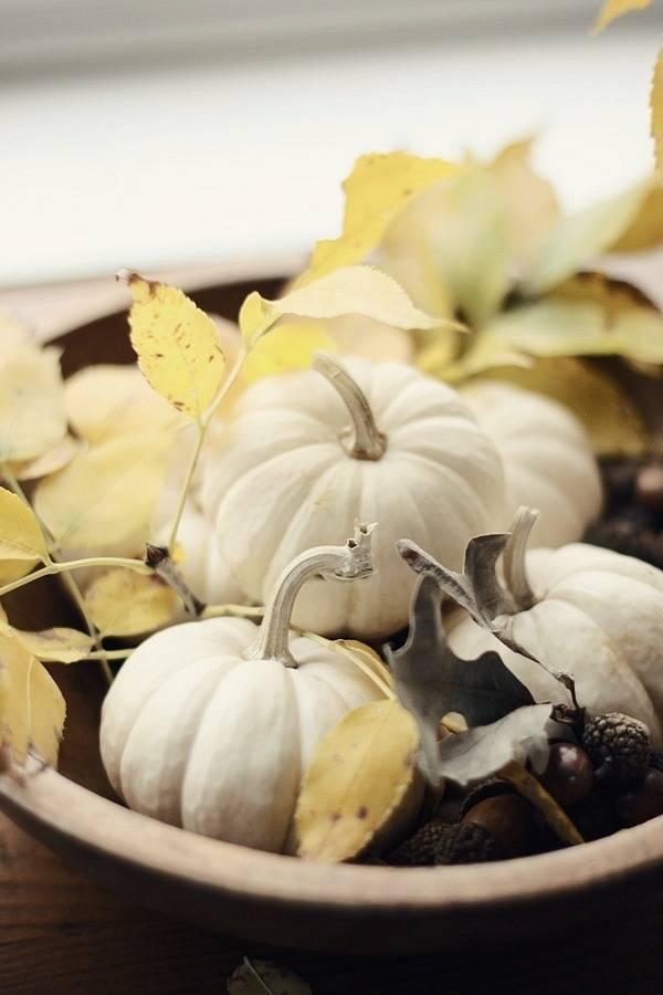 Осенние украшения для интерьера