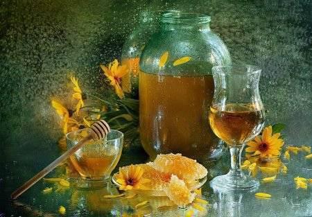 Напитки из меда в домашних условиях