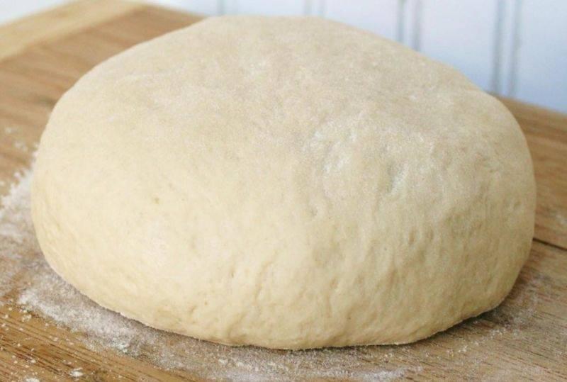 Тесто для пирожков без масла
