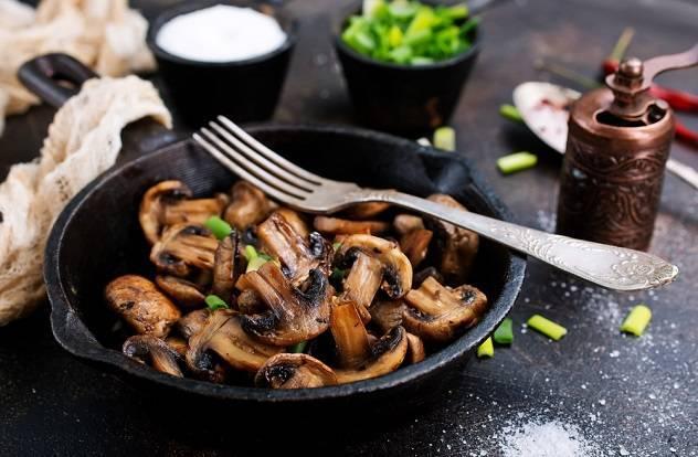 Сколько по времени готовятся грибы