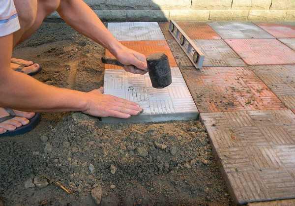 Какой цемент использовать для тротуарной плитки
