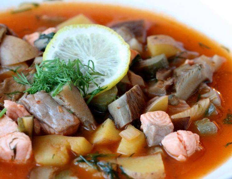 Как готовится солянка суп