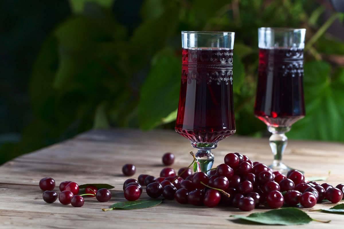 Ликер из вишни в домашних условиях рецепт