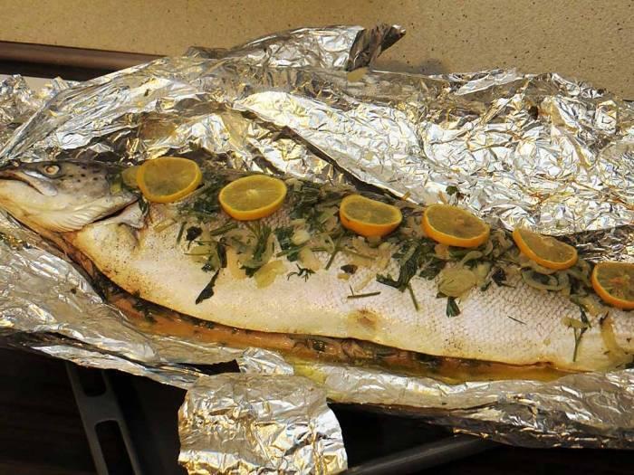 Рыба на гриле рецепт приготовления