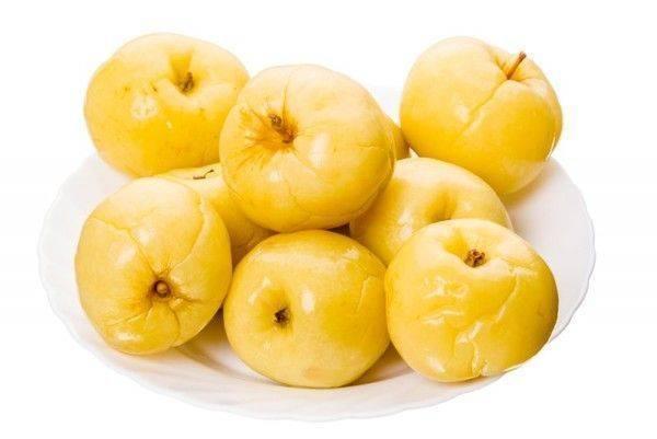 как мочить яблоки на зиму в ведре