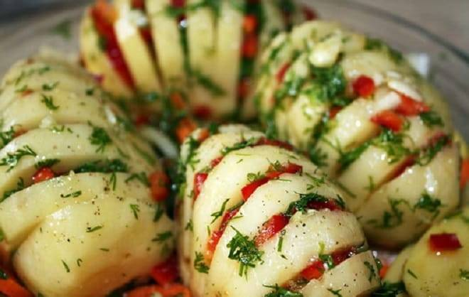 Блюда из вареного картофеля рецепты с фото