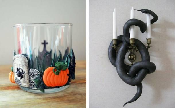 Поделки из пластилина на хэллоуин