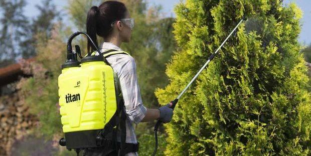 Опрыскиватель для деревьев электрический