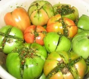 Что можно приготовить из зеленых помидор