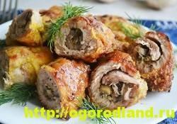 Блюда из свинины к праздничному столу