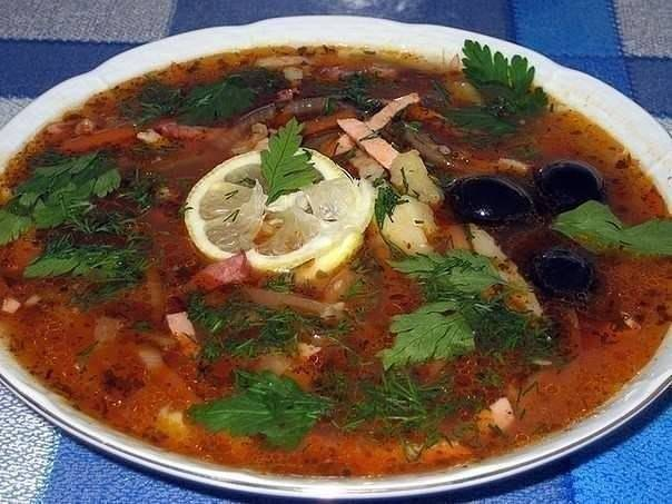 Солянка рецепт приготовления пошагово с фото