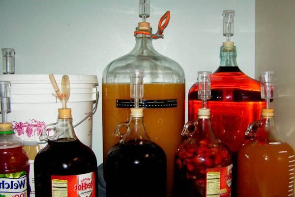 Рецепты виноградного вина с добавлением воды