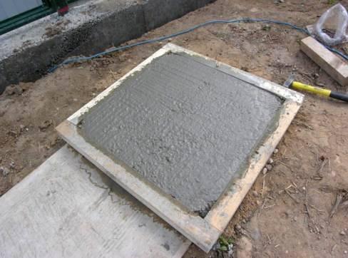 Сушка тротуарной плитки