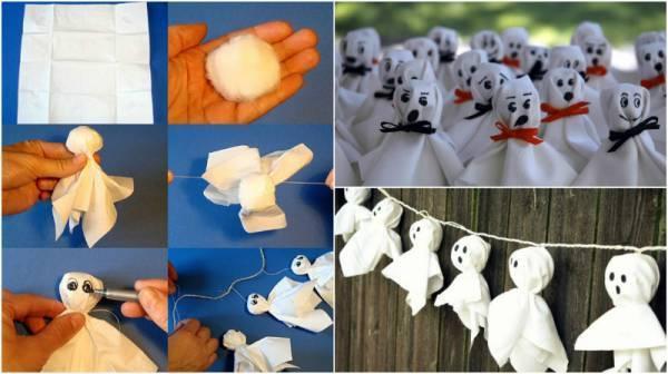 Поделки на хэллоуин фото