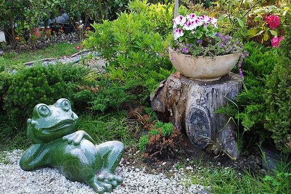 Красивое оформление двора частного дома фото