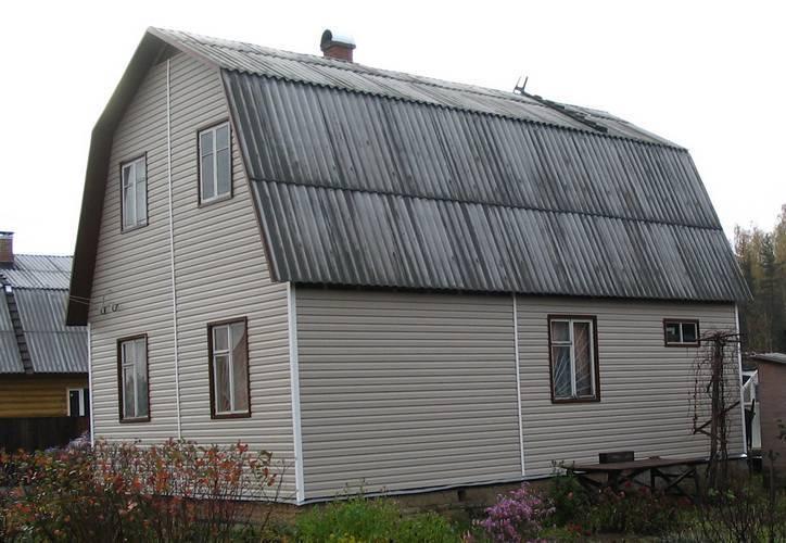 Материал для покрытия крыши дома