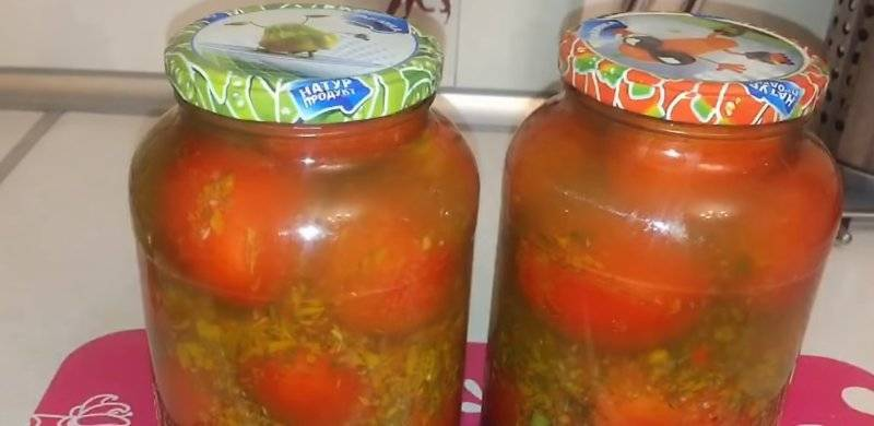 Помидоры в томатной заливке на зиму рецепты
