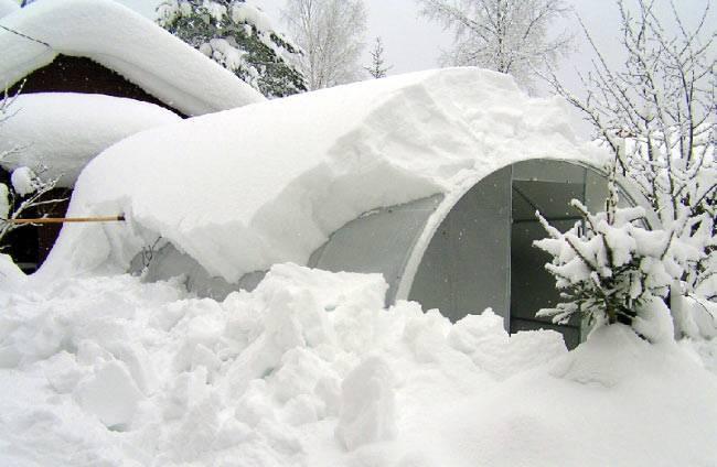 Что делать с теплицей на зиму
