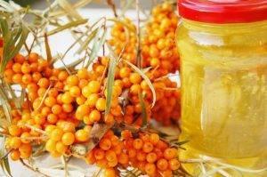 Облепиха на зиму рецепты с медом