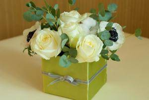 Как сделать коробку для цветов