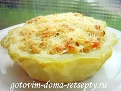 Блюда из патиссонов рецепты с фото