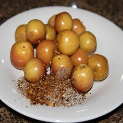 Рассол для моченых яблок