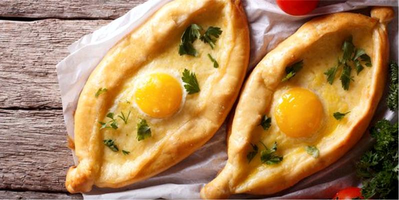 Лодочки с яйцом