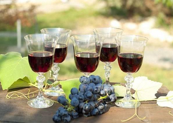 Вино из винного винограда
