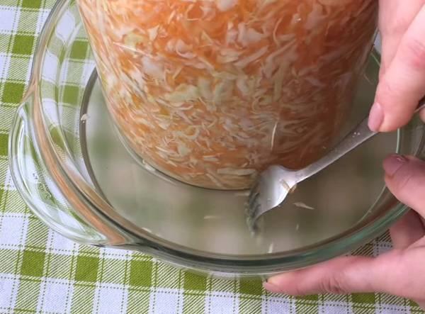 Простой способ квашения капусты