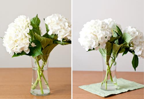 Цветы в вазе дома