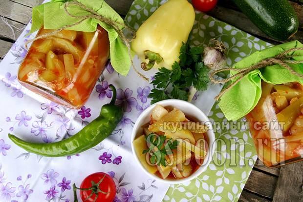 Заготовка кабачков на зиму рецепты