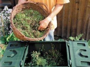Как сделать перегной из травы