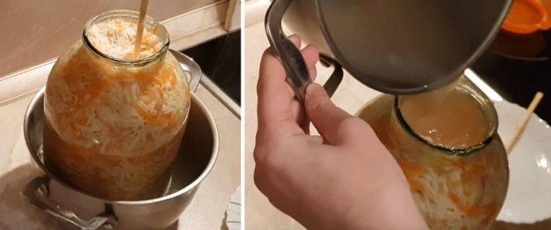 Домашняя квашеная капуста рецепт