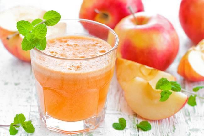 Как делать яблочный сок