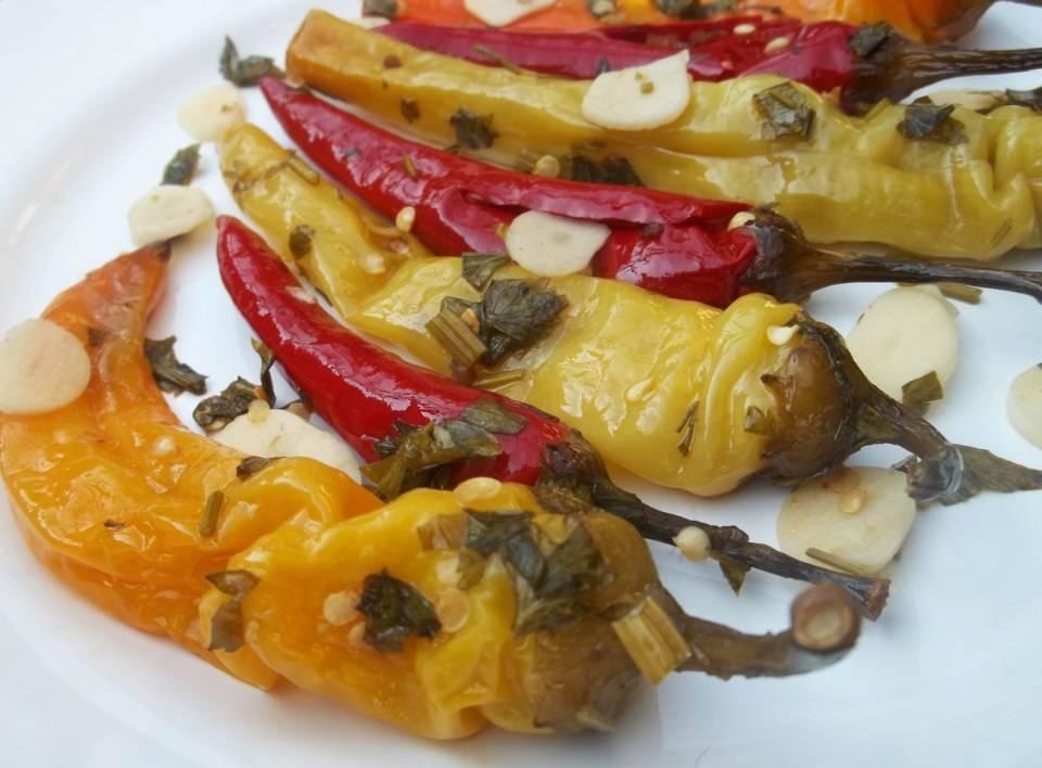 Консервация острого перца рецепты