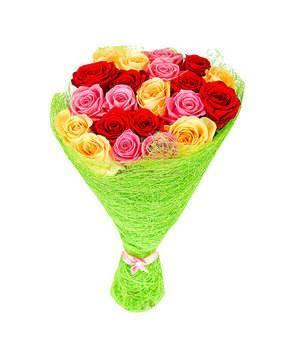 Как красиво оформить букет цветов