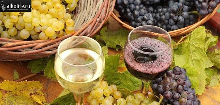 Как сделать вино из красного винограда