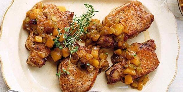 Рецепт из мяса свинины быстро и вкусно