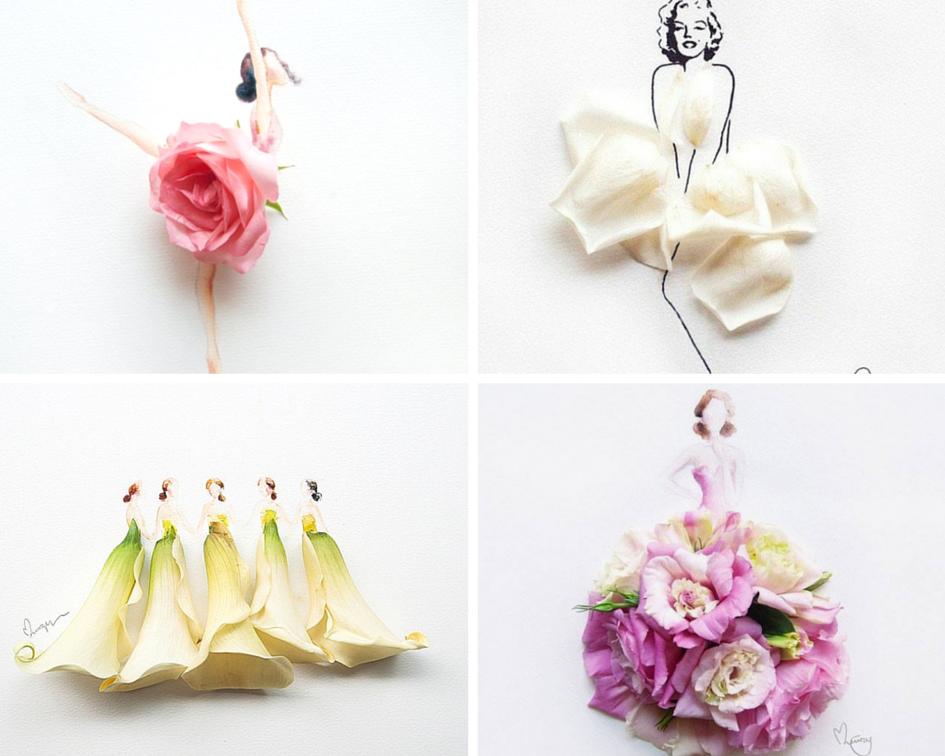 Открытки с живыми цветами своими руками, юбилеем для папы