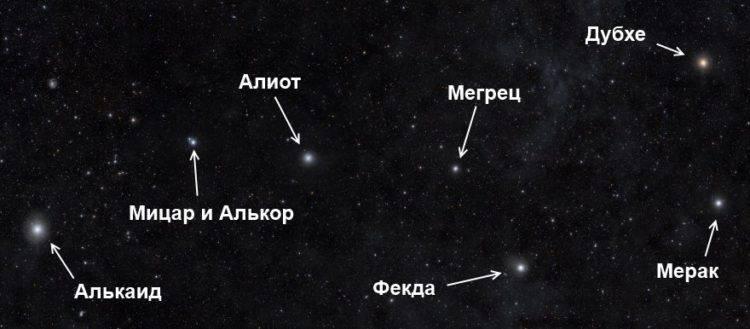 Звезда алиот