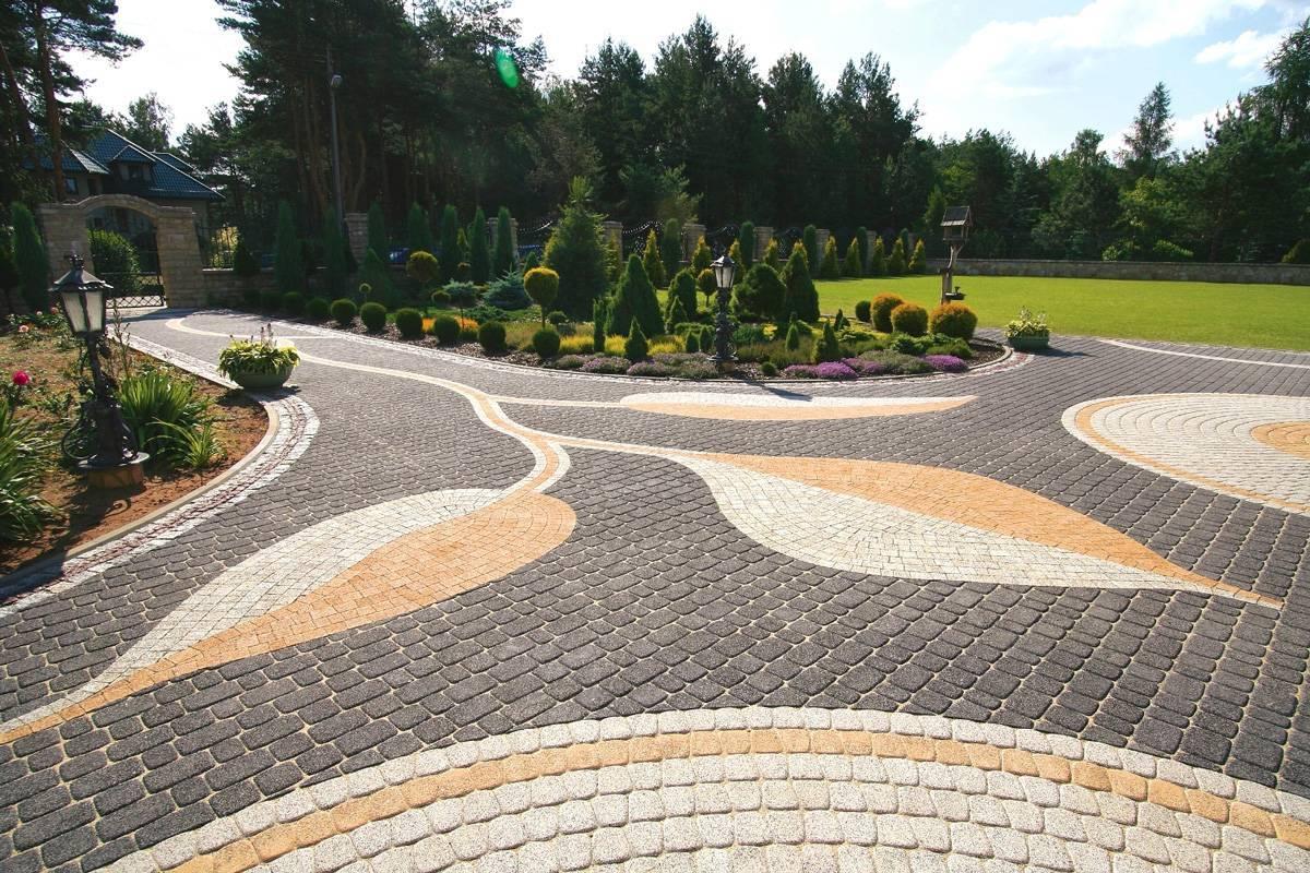 Дизайн тротуарной плитки
