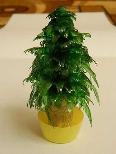 Новогодние поделки елки