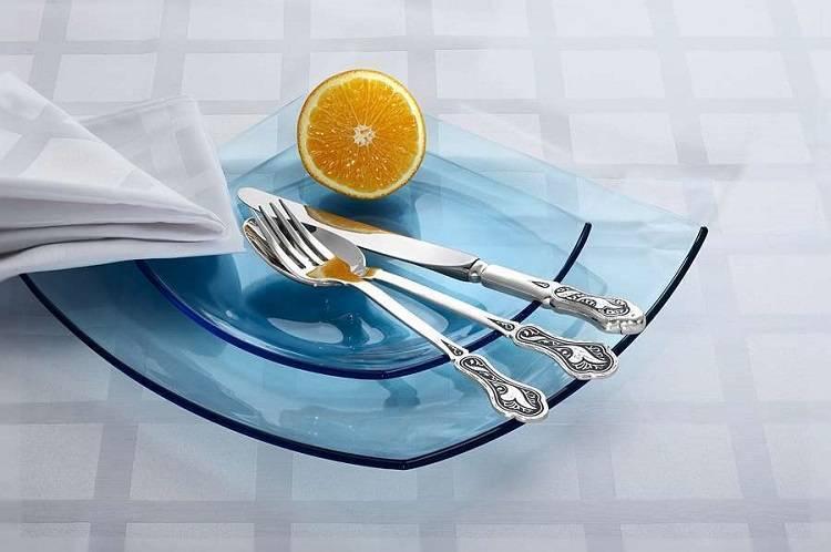 Как отмыть столовые приборы из нержавейки