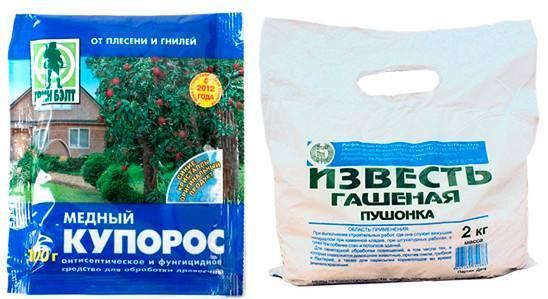 Как приготовить 3 процентный раствор медного купороса
