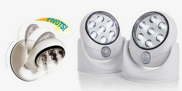 Светильники с датчиком движения для дома