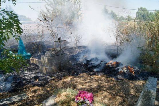 Сжигание отходов на территории предприятия