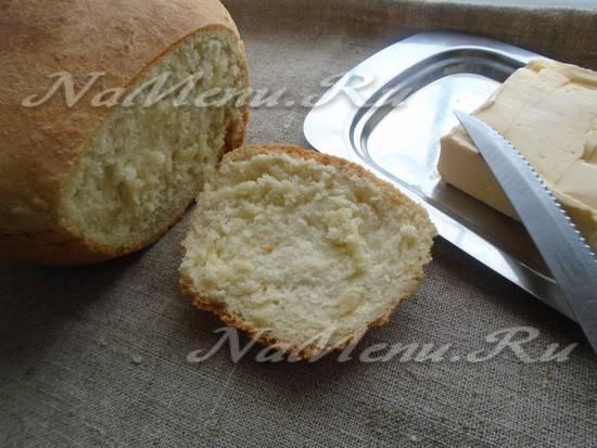 Хлеб без яиц рецепт