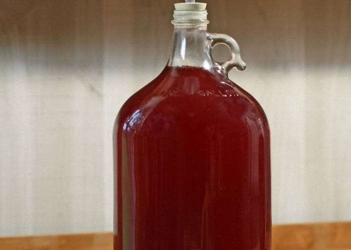 Как сделать вино из виноградного сока