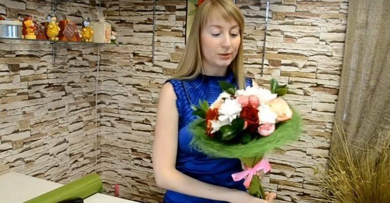 Собираем букет из цветов