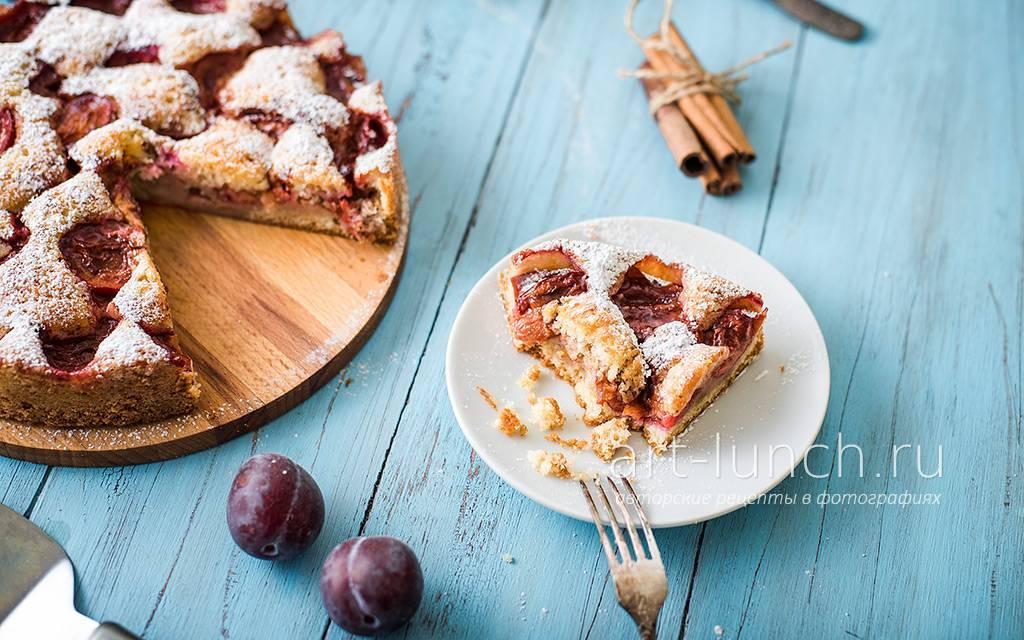 Пирог со сливой быстро вкусно